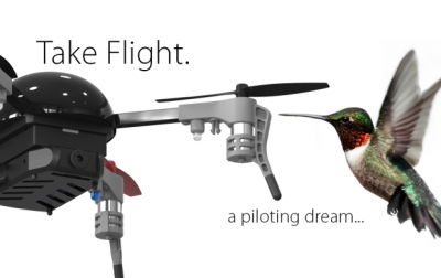 Nano Drone 4.0: Flight in the Palm of Your Hand